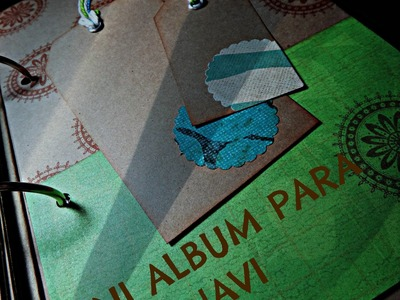 Mini Album Scrapbook para Javi