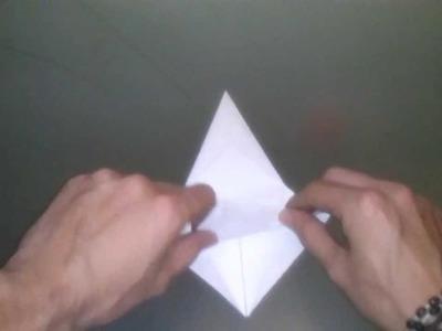 Origami: grulla de papel - cómo hacer una grulla de origami