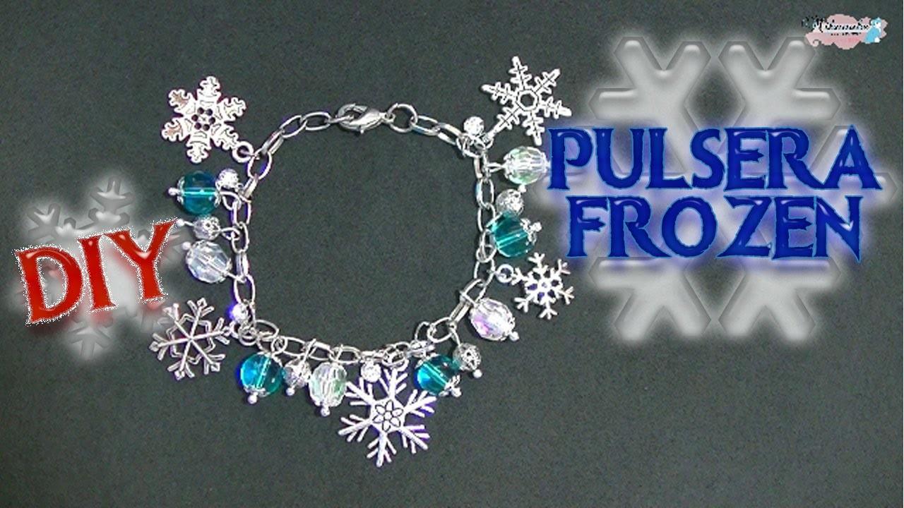Pulsera Frozen DIY Frozen bracelet. Es.pandahall.com