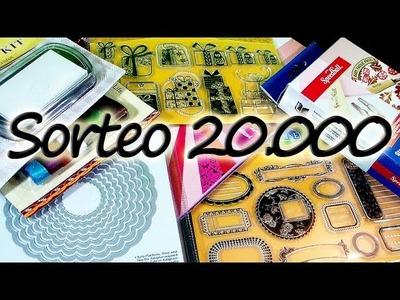 Sorteo de Sellos Framelits y Material Scrapbook 20,000 *Give Away* Suscriptores Pintura Facil