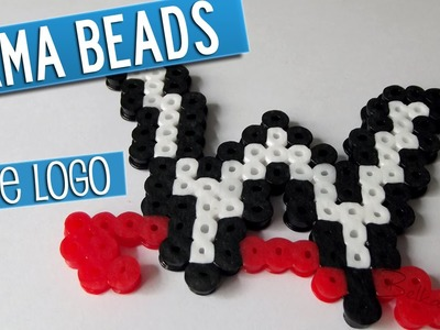 WWE logo con Hama Beads