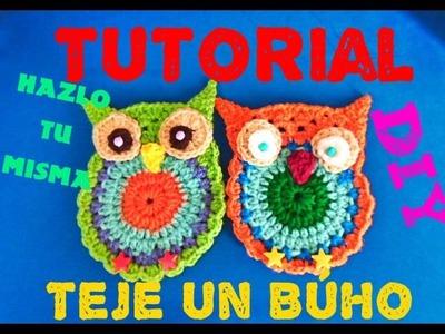 Aprende a Tejer BúHO!!! OWL Crochet Tutorial