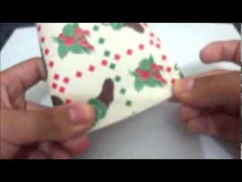 Caja Scrapbook Navideña