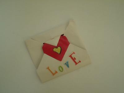 Carta para novi@. origami