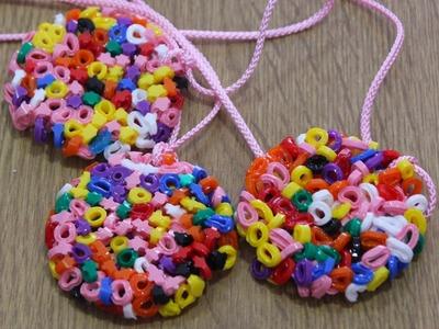 Colgantes faciles  de  Hama beads