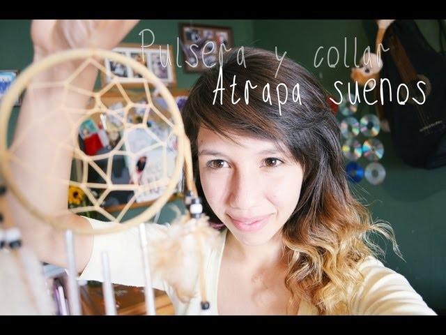 Collar y Pulsera De AtrapaSueños | DIY |