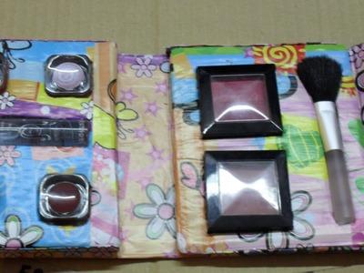 Diy:paleta casera de sombras casera (homemade makeup palette )