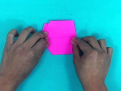 Hacer zapatos de origami - Formas bonitas en papel