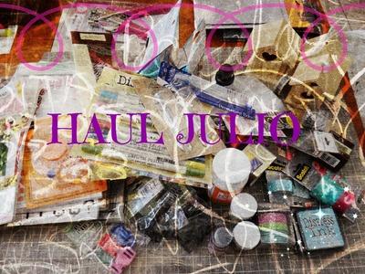 HAUL JULIO - Artículos de scrapbook y más