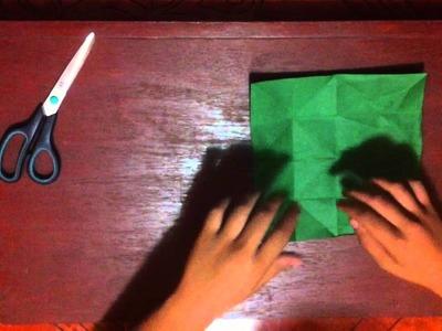 Mariposa de origami - Formas diversas hechas de papel