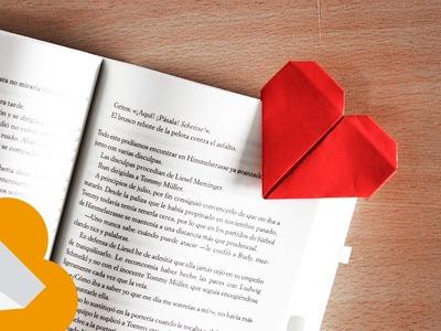 Origami Corazones y Marca-páginas SIMPLE Y FACIL