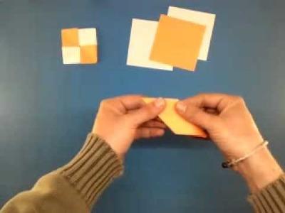 Papiroflexia: cómo hacer portavasos o posavasos de origami