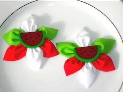 Tutorial NUMERO 2 accesorios para el cabello  KAZASHI flores DIY