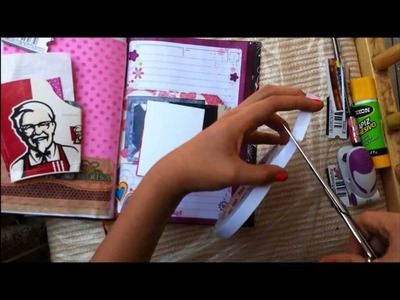 TUTORIAL SCRAPBOOK ♥ SMASH BOOK Haz una pagina conmigo ♥ 06 • 06 • 2013