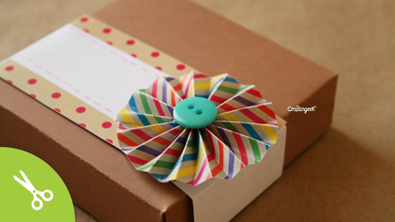 Caja de pizza: para regalo original. Pizza box DIY