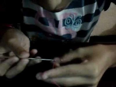 Como hacer costura crochet parte I