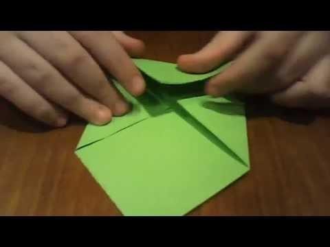 Como hacer un sobre de origami