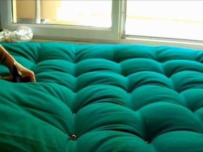 DIY : Hacer una cabecera de cama acolchonada Ü
