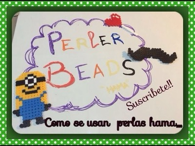 Hama beads como usarla(plyssla ikea)how to use