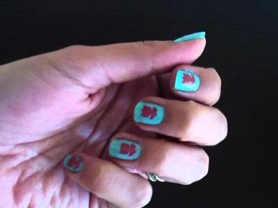 Ideas faciles para uñas - Scrapbook Nails
