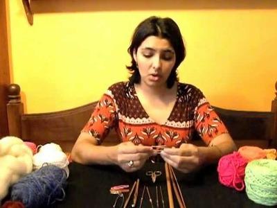 Iniciación al Tejido a Crochet - Parte 2 (Materiales)
