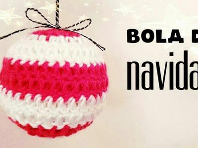 NAVIDAD | Bolas de Navidad a Crochet - usando pelotas de tenis -