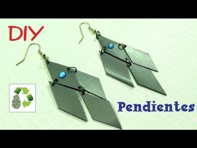 11. DIY PENDIENTES (RECICLAJE DE BOTES DE PLÁSTICO)