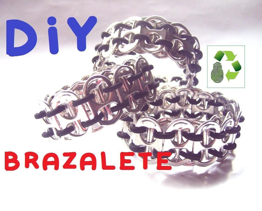 13. DIY BRACELET RECICLAJE DE ANILLAS (BRAZALETE)
