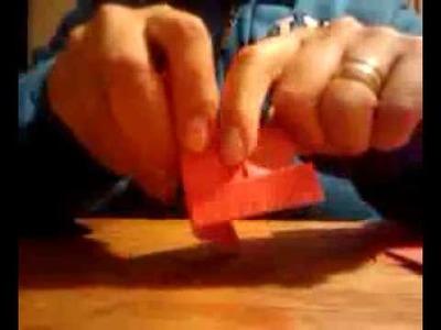 Adornos Navideños hechos de Origami