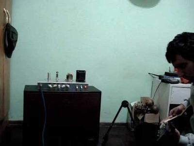 Amplificador valvular Single End Diy inspirado en AX84 P1