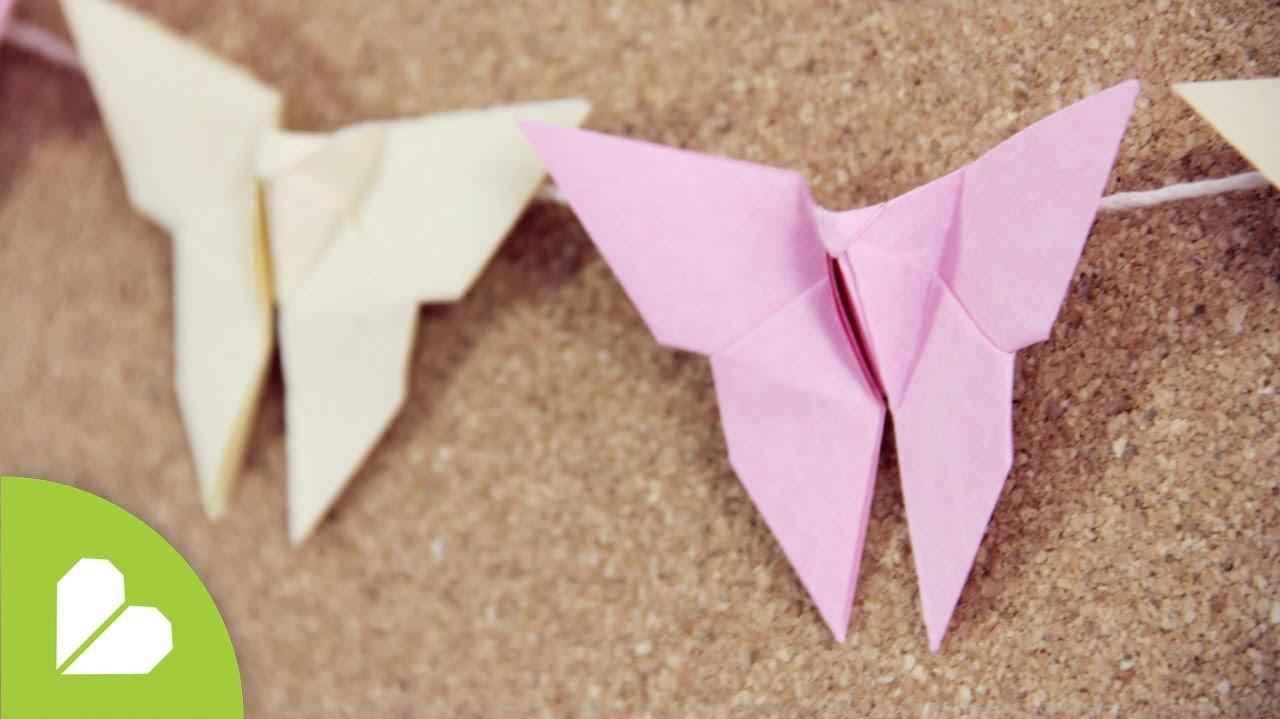 Como hacer Mariposa Origami: deco. mariposas de papel