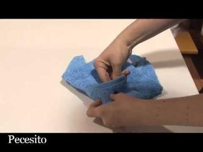 Cómo hacer Origami con toallas