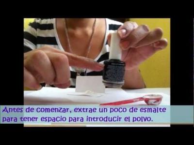 Cómo hacer un esmalte efecto Mate (Matte Nail Polish DIY)