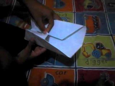 Como hacer una cartera de papel,(origami)