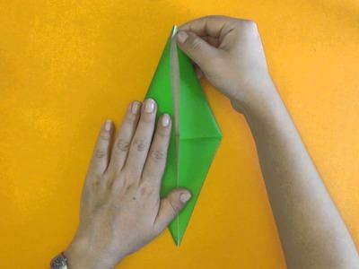 Como hacer una Grulla de Origami - Tutorial