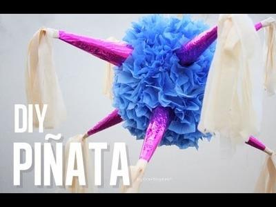 Como hacer una piñata - Estrellas Navideñas - DIY Piñata