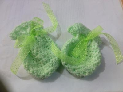 Crochet guantes para bebé. Fácil y rápido