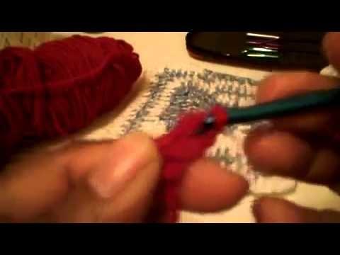 CuadrosTejidos (granny square)- 1ra parte -Tutorial de tejido crochet