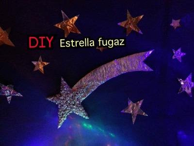 Diy estrella fugaz by mi niña (felics fiestas)