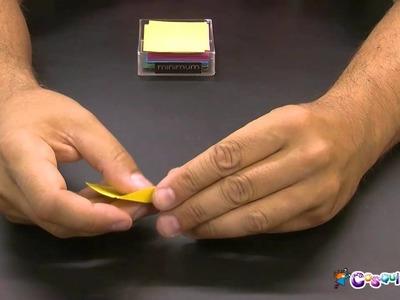 DIY Manualidad. Papiroflexia. Origami: Pato