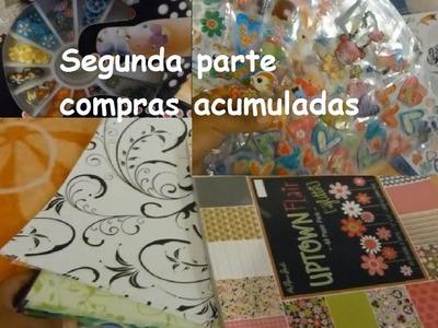 Haul: Compras para scrapbook y manualidades (parte 2)