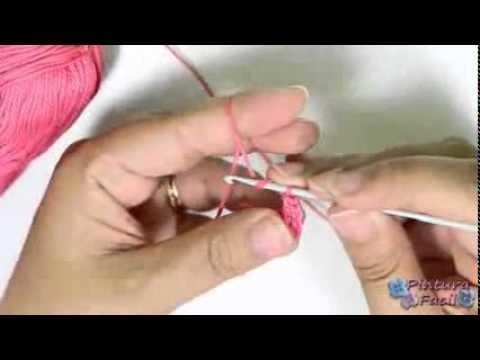 Libro De Pintura Para Navidad-DIY Como Hacer Flores de Crochet How to Crochet a Flower Flores Amigur