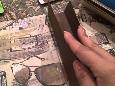 Manualidades scrapbook, como hacer album de fotos