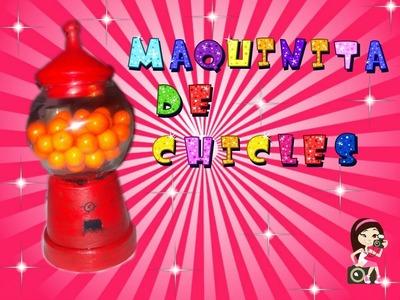 ♥♥♥ Maquinita de Chicles. DIY Super Orginal Regalo ♥♥♥