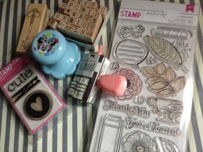 MATERIAL Sellos.Clear Stamps **Scrapbook**