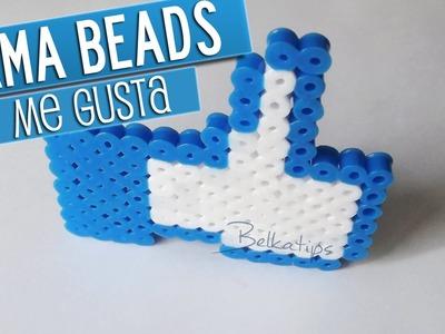 Me Gusta de Facebook con Hama Beads