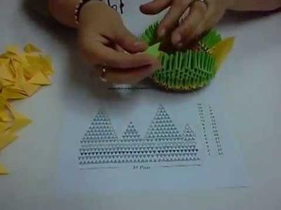 Origami 3D Cisne Papiroflexia (2da Parte)