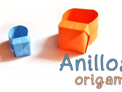 Origami: Anillos Origami | Origami Rings