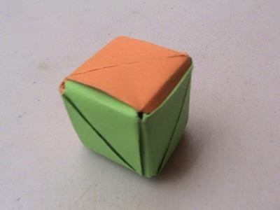 Origami Como Hacer un Cubo con Papel
