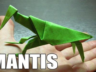 Origami de animales | Como hacer una MANTIS RELIGIOSA de papel paso a paso (Muy fácil)